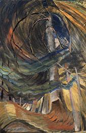 Spiralling Upward 1933 By Emily Carr