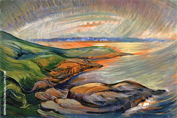 Strait of Juan de Fuca 1936 By Emily Carr
