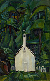 The Indian Church 1929 By Emily Carr