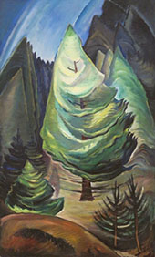 The Little Pine 1931 By Emily Carr