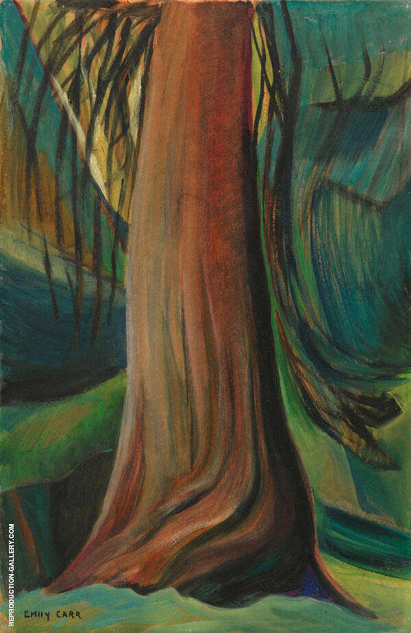 Tree Study c1930 By Emily Carr