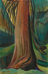 Tree Study c1930 By Emily Carr