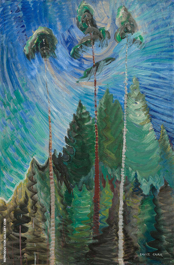 Untitled 1938 By Emily Carr