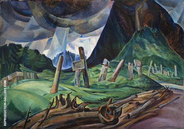 Vanquished 1930 By Emily Carr