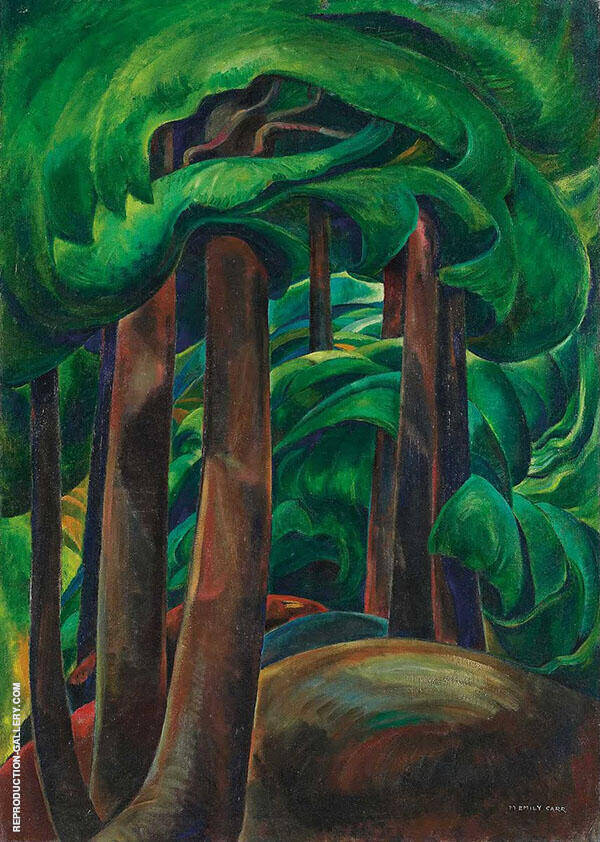 Western Forest c1931 By Emily Carr