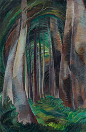 Wood Interior 1932 By Emily Carr