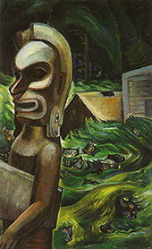 Zunoqua of The Cat Village 1931 By Emily Carr
