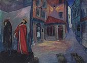 Into The Night By Marianne von Werefkin