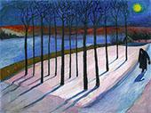 Moonlit By Marianne von Werefkin