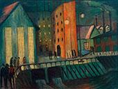 Night Shift By Marianne von Werefkin