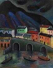 Nighttime Fishing in Ascona By Marianne von Werefkin