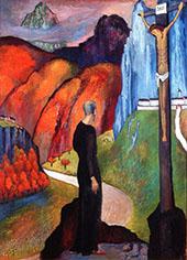 The Monk 1932 By Marianne von Werefkin