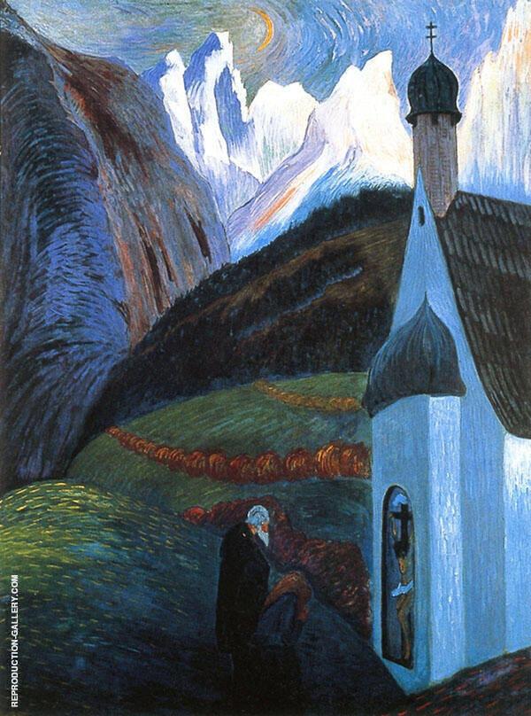 The Prayer By Marianne von Werefkin