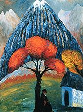 The Red Tree By Marianne von Werefkin