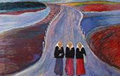 The Secondary Road By Marianne von Werefkin