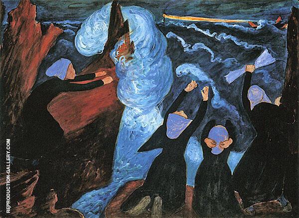 The Storm By Marianne von Werefkin