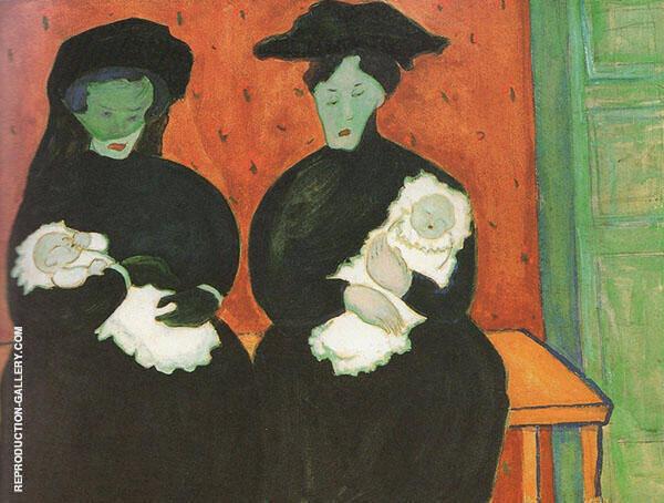 Twins By Marianne von Werefkin