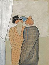 Two Women 1908 By Marianne von Werefkin