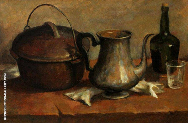 Still Life with Kitchenware c1899 By Emil Carlsen