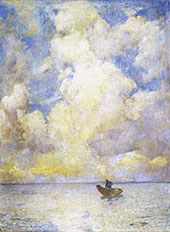 Summer Light 1915 By Emil Carlsen