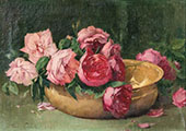 Swooning Roses 1896 By Emil Carlsen