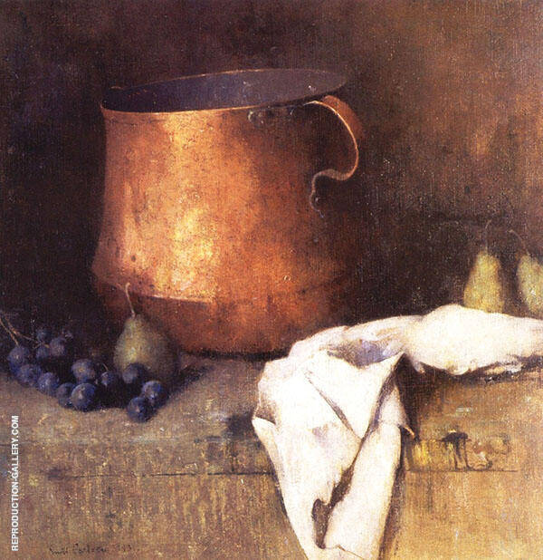 The Copper Pot 1931 By Emil Carlsen