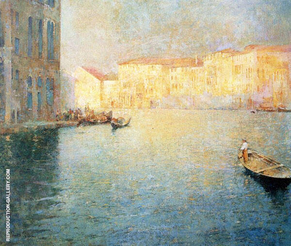 The Market Venice By Emil Carlsen