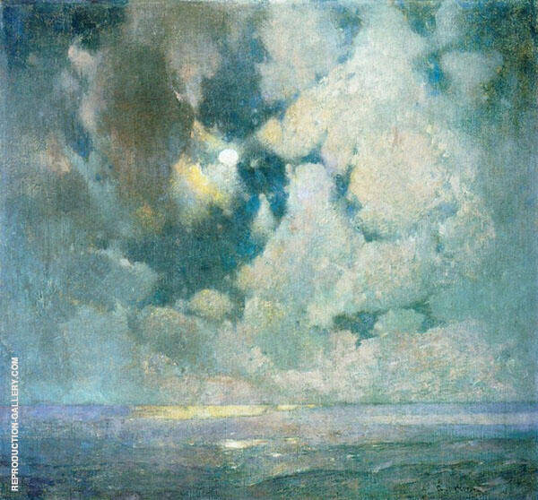 The Ocean at Sunrise By Emil Carlsen