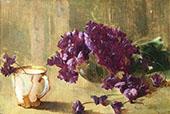 Violets 1897 By Emil Carlsen