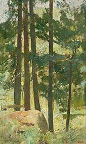 White Pine 1928 By Emil Carlsen