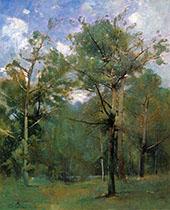 Woods By Emil Carlsen