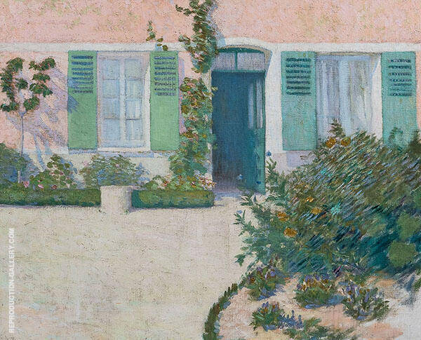 Maison Rose Painting By Philip Leslie Hale - Reproduction Gallery
