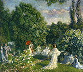 The Garden Party By Philip Leslie Hale