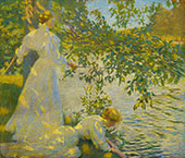 The Water's Edge By Philip Leslie Hale