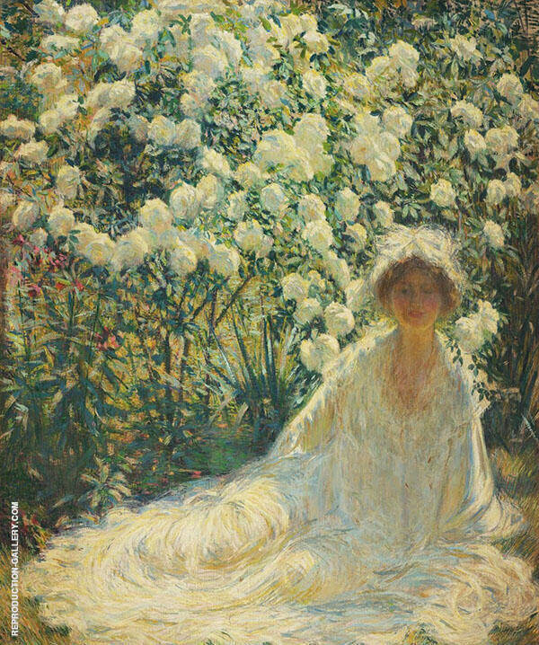 White Painting By Philip Leslie Hale - Reproduction Gallery
