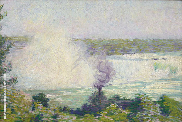 Niagara Falls by Philip Leslie Hale | Oil Painting Reproduction Replica On Canvas - Reproduction Gallery