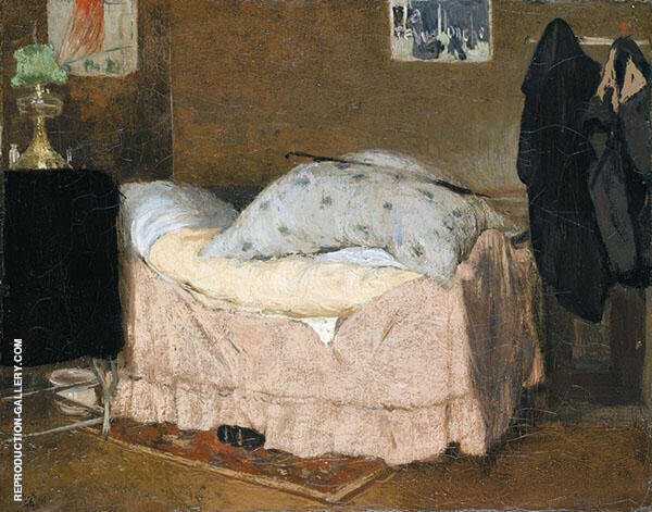 A Pink Bed By Henri Evenepoel