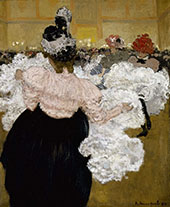 At The Moulin Rouge 1897 By Henri Evenepoel