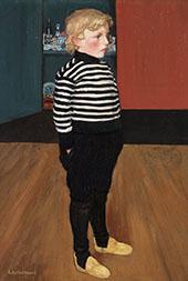 Charles in Striped Jersey 1898 By Henri Evenepoel