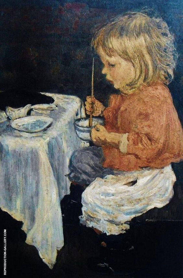 Charles Make Dinner By Henri Evenepoel