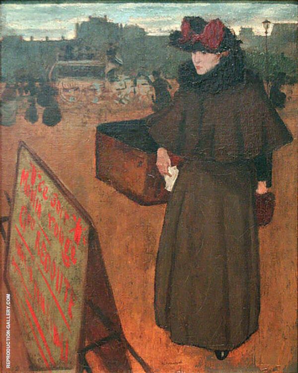 Errand Girl By Henri Evenepoel