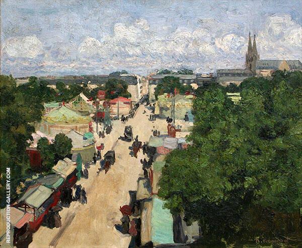 Fair at Les Invalides By Henri Evenepoel