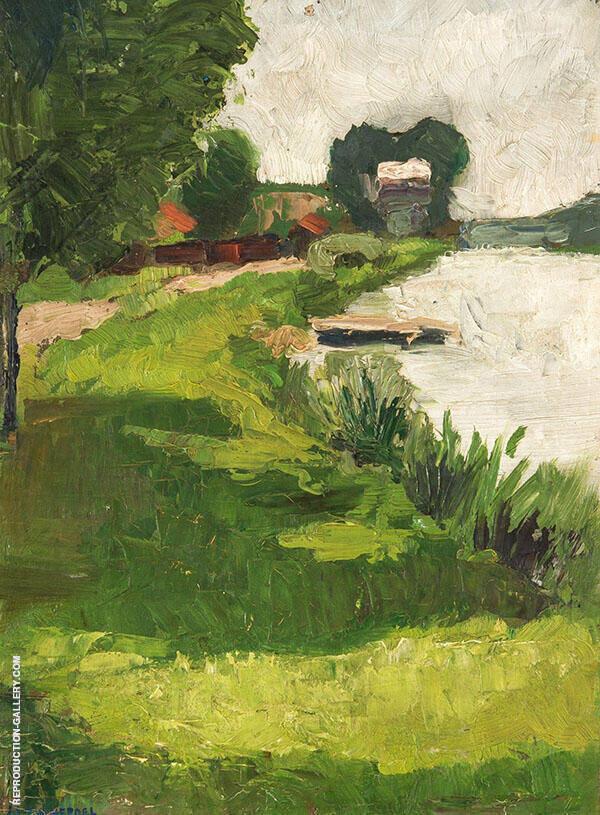 Landscape c1891 By Henri Evenepoel