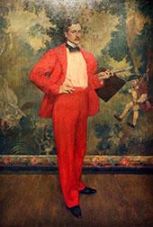 Man in Red By Henri Evenepoel