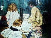 Playing Children By Henri Evenepoel