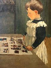 Portrait of Louis Charles Crespinr 1895 By Henri Evenepoel