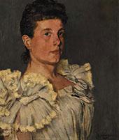 Portrait of Miss Williams By Henri Evenepoel