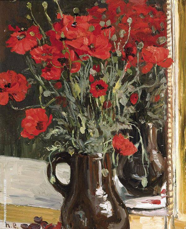 The Poppies c1896 By Henri Evenepoel