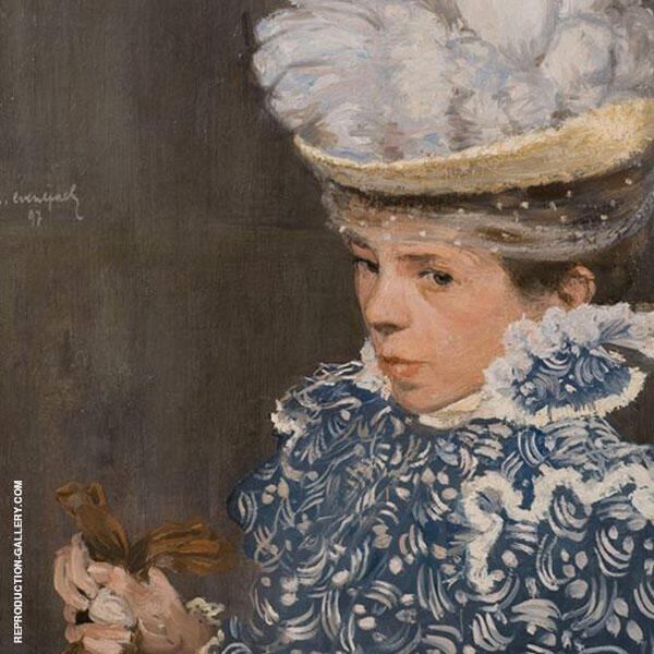 The White Hat By Henri Evenepoel