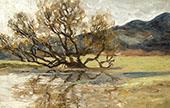 Tree Reflected in Water 1898 By Henri Evenepoel